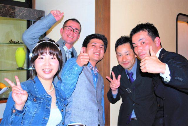 大阪,1.5次会.帰国後パーティー