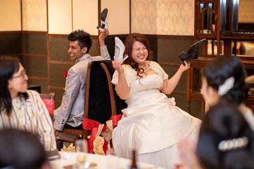 シューゲーム,演出,ウェデイング,結婚式