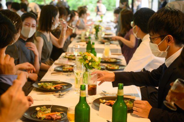 京都,北山,レストランウェデイング,会費制結婚式